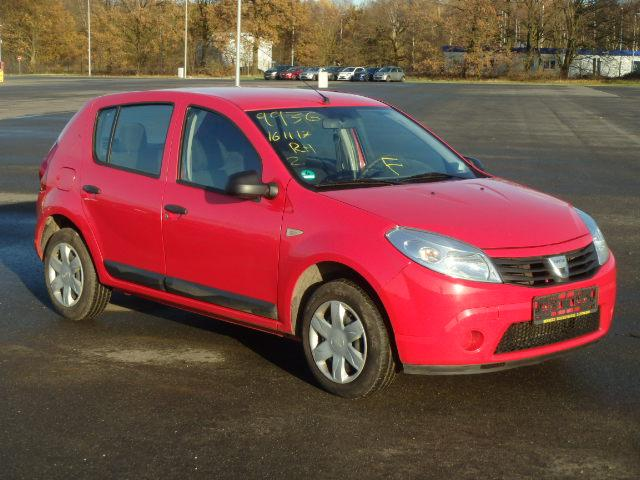 2009 Dacia Sandero 14 Ambiance Hannover For Sale At Copart